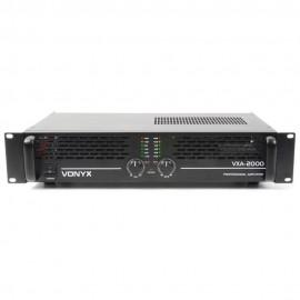 Vonyx PA Amplifier VXA-2000 II 2x 1000W Усилвател